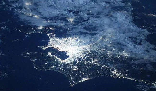 Olympic Games Light Up Tokyo In NASA's Stunning Pic