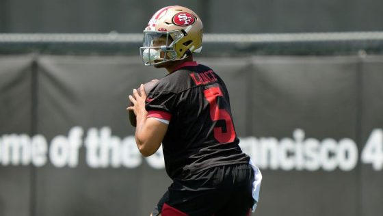 Trey Lance signs rookie contract with 49ers